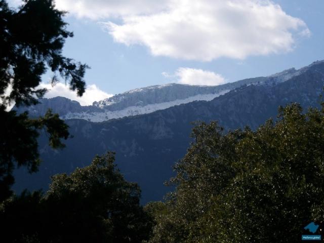 Tramuntana Schnee