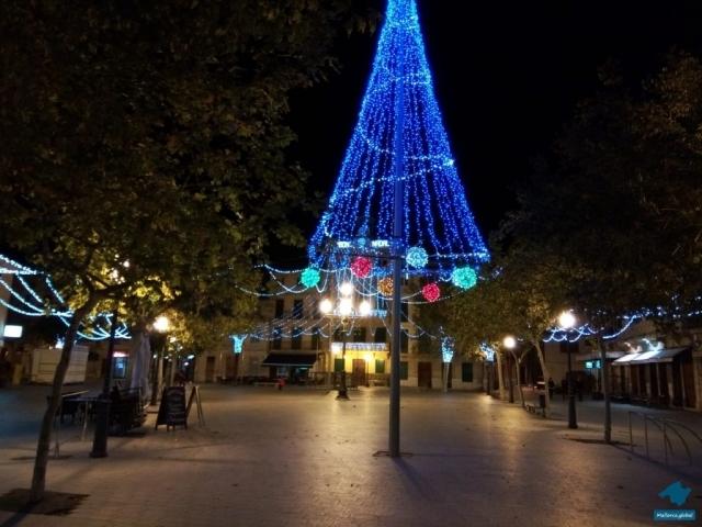 Weihnachtsbaum Llucmajor