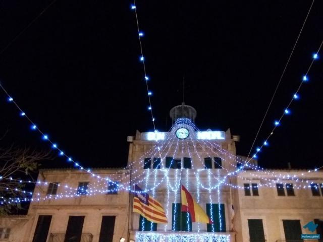 Weihnachtsbeleuchtung Llucmajor