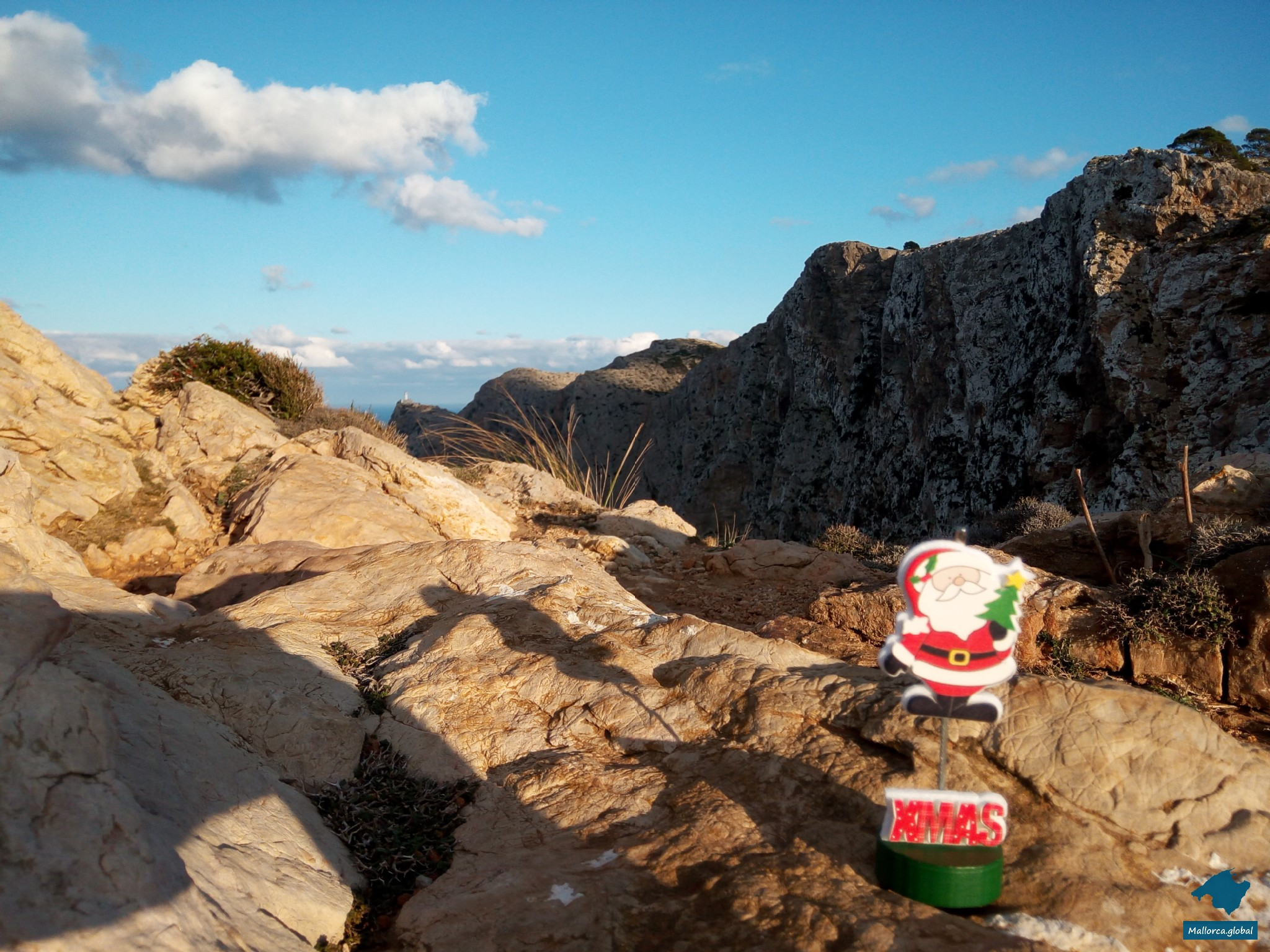 Weihnachtsgruß aus Mallorca