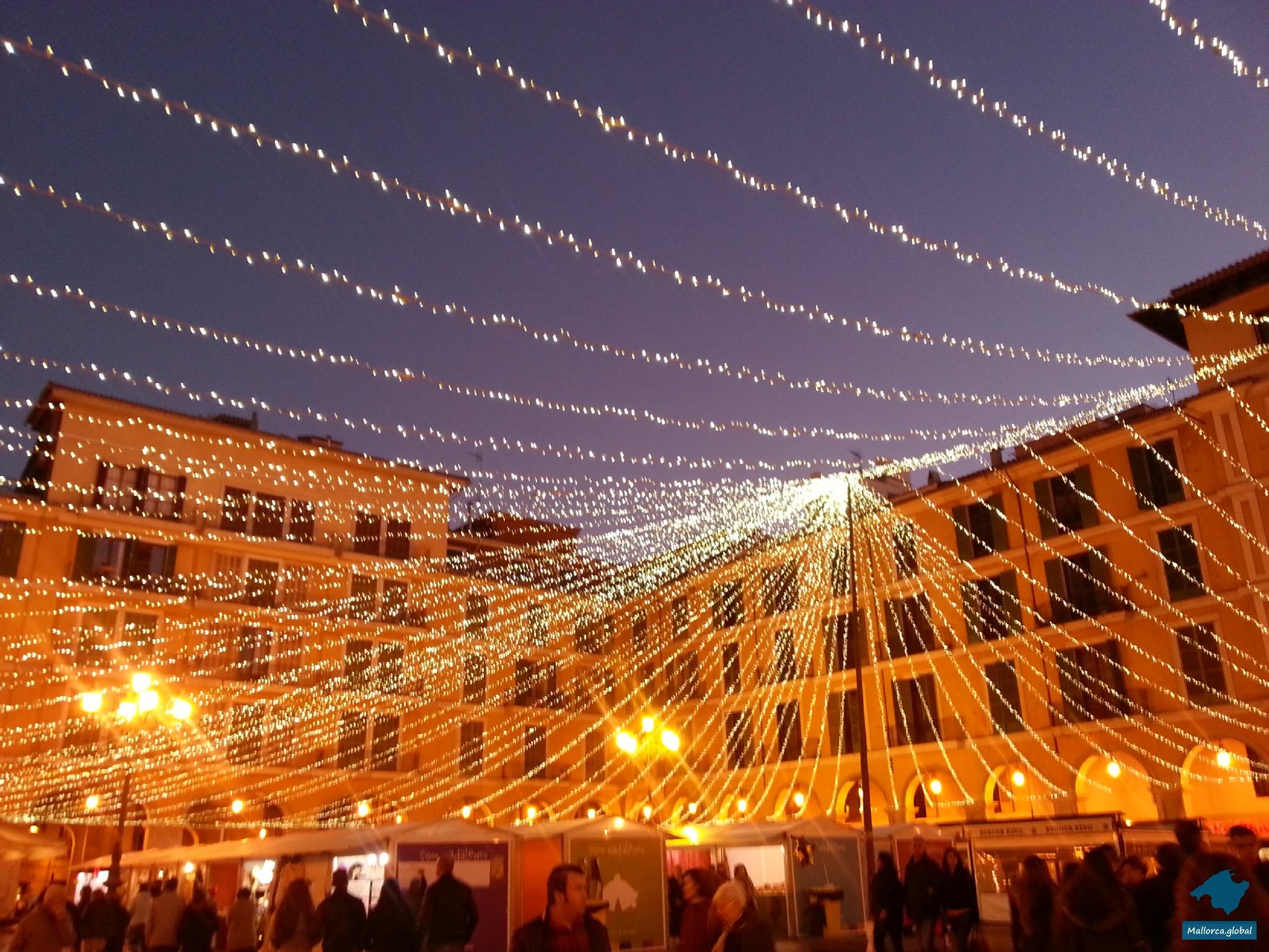 Weihnachtsmarkt Placa de Espana