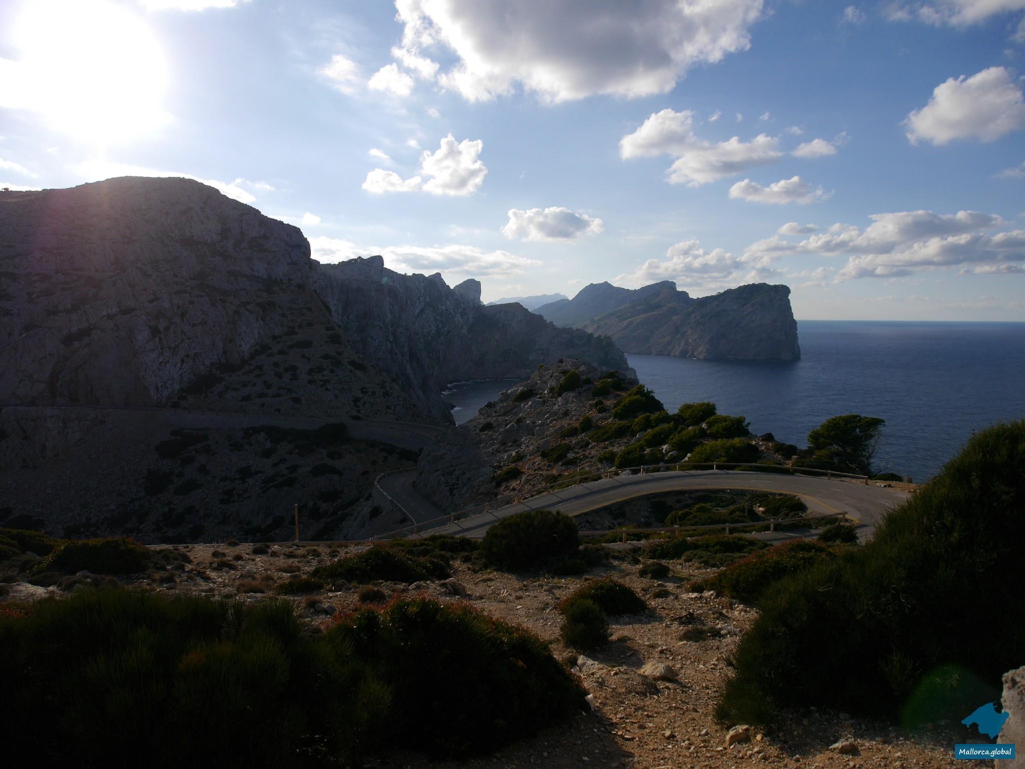 Straße zum Cap de Formentor
