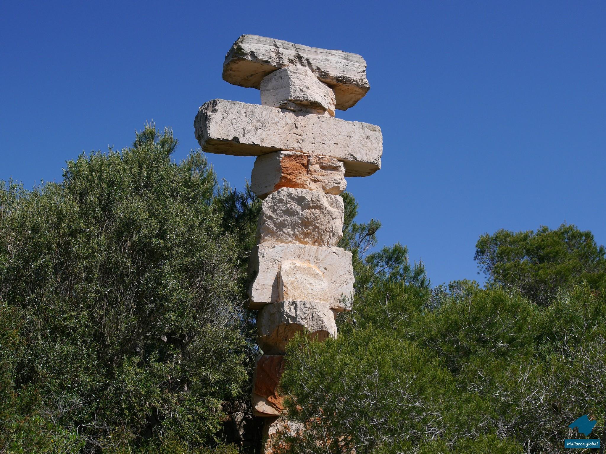 Cala Santanyi Steinkunst