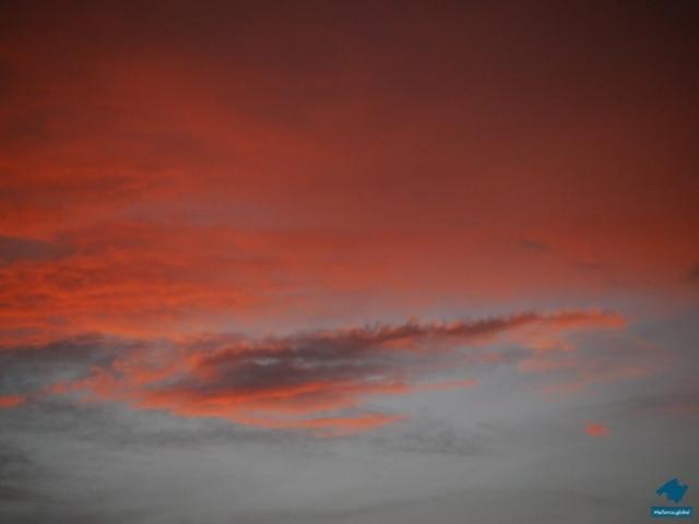 Mallorca Sonnenuntergang Wolken