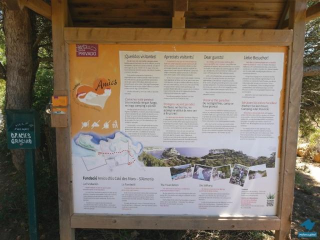 Caló des Moro Cala Llombards Park