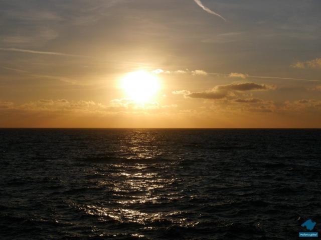 Meer und Sonnenuntergang auf Mallorca