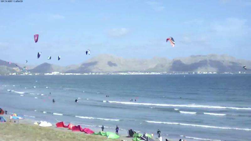 Livecam Kite Surfer Alcudia