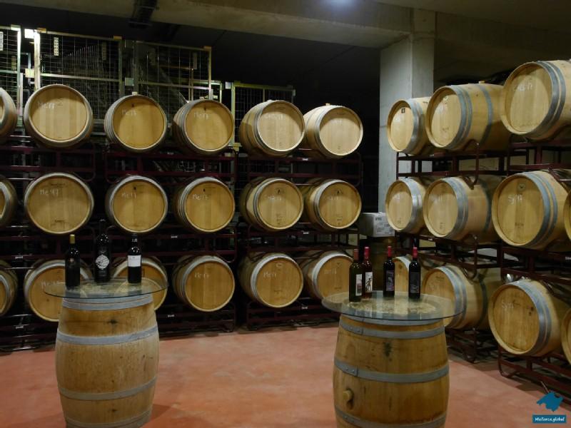 Weinfässer Bodega Mallorca